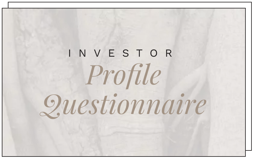 Profile Questionnaire