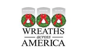 Jack Cooney participates in Wreaths Across America 2019